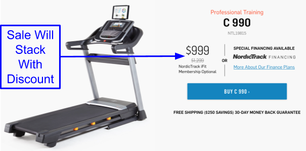 NordicTrack C 990 Coupon And Promo Codes