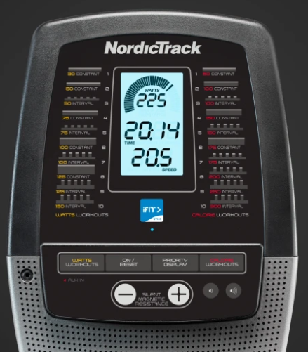 NordicTrack RW200 Tech Features