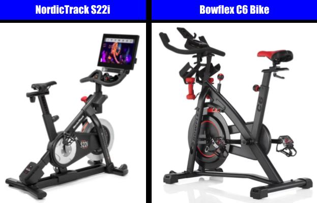 Exercise Bike Comparison - NordicTrack Bike vs Bowflex Bike