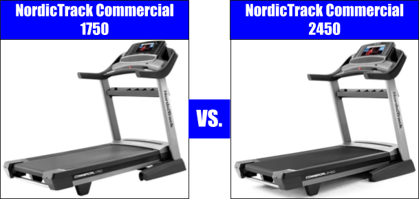NordicTrack 1750 vs. 2450 - Treadmill Comparison
