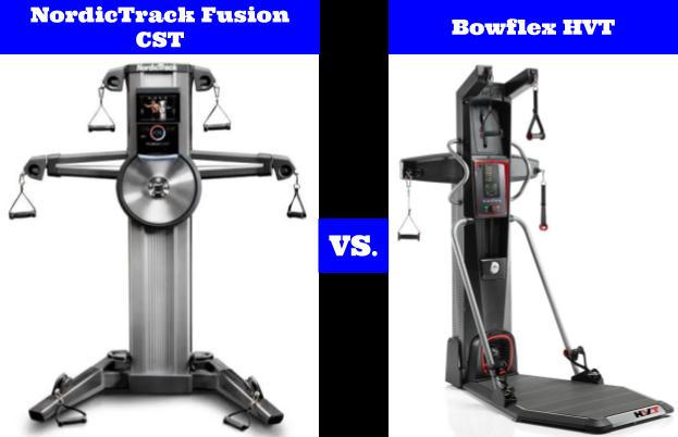 NordicTrack Fusion CST vs Bowflex HVT