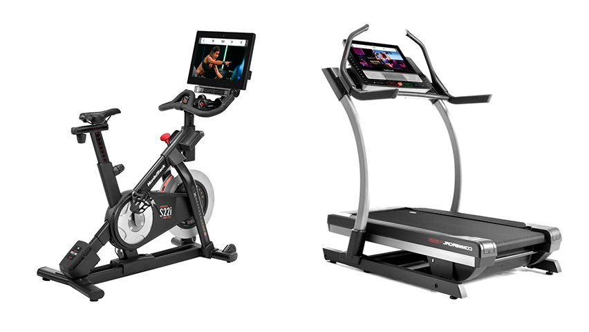 Which NordicTrack Machines Have The Largest Screen